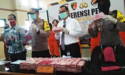 Polisi Amankan 29.600 Uang Palsu, Pelaku Diancam 10 Tahun Penjara dan Denda Rp 10 miliar