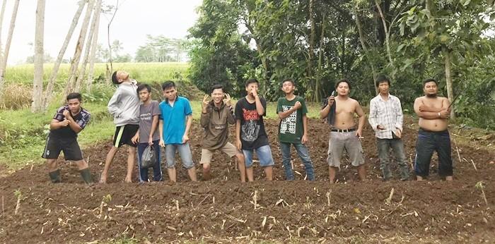 Garap Tanah Wakaf, IPP3LING Sulap Lahan Kering Menjadi Produktif